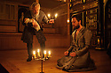 London, UK. 03.02.2016. Shakespeare's Globe presents THE WINTER'S TALE, by William Shakespeare, in the Sam Wanamaker Playhouse. Picture shows: David Yelland (Antigonus) and John Light (Leontes). Photograph © Jane Hobson.