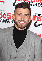 Jake Quickenden at The Inside Soap Awards 2019, Sway Nightclub, London on October 7th 2019<br /> CAP/ROS<br /> ©ROS/Capital Pictures