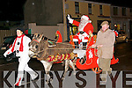 Ballybunion Lights Switch On : Santa Clause arriving in Ballybunion in an ass & cart to switch on the Christmas tree lights on Saturday evening  last.