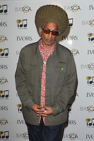 Don Letts  arriving for the 59th Ivor Novello Awards, at the Grosvenor House Hotel, London. 22/05/2014 Picture by: Alexandra Glen / Featureflash