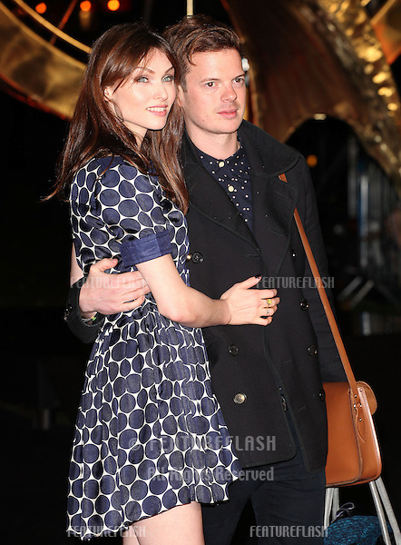 Sophie Ellis Bextor and husband Richard arriving for The Hunger Games, Catching Fire World Premiere, London Leicester Square. 11/11/2013 Picture by: Alexandra Glen / Featureflash