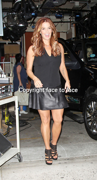 Poppy Montgomery at &quot;Live with Kelly &amp; Michael&quot; in New York, 01.08.2013.<br /> Credit: MediaPunch/face to face<br /> - Germany, Austria, Switzerland, Eastern Europe, Australia, UK, USA, Taiwan, Singapore, China, Malaysia, Thailand, Sweden, Estonia, Latvia and Lithuania rights only -