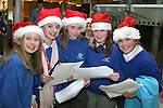 Chloe O'Brien, Ella Murphy, Juliette Roden, Hannah Smith and Zaklin Basta at the Christmas Carol Singing with Mell National School...Photo NEWSFILE/Jenny Matthews.(Photo credit should read Jenny Matthews/NEWSFILE)....This Picture has been sent you under the condtions enclosed by:.Newsfile Ltd..The Studio,.Millmount Abbey,.Drogheda,.Co Meath..Ireland..Tel: +353(0)41-9871240.Fax: +353(0)41-9871260.GSM: +353(0)86-2500958.email: pictures@newsfile.ie.www.newsfile.ie.FTP: 193.120.102.198.