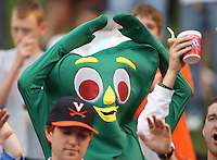 Gumby watched the Duke vs Virginia ACC football game Saturday in Charlottesville, VA. Duke won 28-17. Photo/Andrew Shurtleff