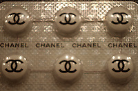 chanel pills at art miami