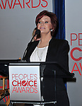 Sharon Osbourne at the 2012 People's Choice Awards Nominations, held at The Paley Center for Media in Beverly Hills, Ca. November 8, 2011