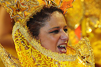 SAO PAULO, SP, 19 DE FEVEREIRO 2012 - CARNAVAL SP - UNIDOS DE VILA MARIA - Desfile da escola de samba Unidos de Vila Maria na segunda noite do Carnaval 2012 de São Paulo, no Sambódromo do Anhembi, na zona norte da cidade, neste domingo.(FOTO: ADRIANO LIMA  - BRAZIL PHOTO PRESS).