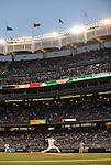 Masahiro Tanaka (Yankees), APRIL 9, 2014 - MLB : New York Yankees starting pitcher Masahiro Tanaka throws during the MLB game between the New York Yankees and the Baltimore Orioles at Yankee Stadium in The Bronx, New York, United States. (Photo by AFLO)