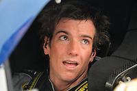 Jul. 4, 2008; Daytona Beach, FL, USA; NASCAR Sprint Cup Series driver Jon Wood during qualifying for the Coke Zero 400 at Daytona International Speedway. Mandatory Credit: Mark J. Rebilas-