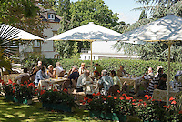 Germany, Baden-Wuerttemberg, Markgraefler Land, Badenweiler, 5-stars-hotel Roemerbad, cafe