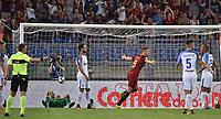 Esultanza Gol Edin Dzeko Roma Goal celebration <br /> Roma 26-08-2017 Stadio Olimpico Calcio Serie A AS Roma - Inter Foto Andrea Staccioli / Insidefoto