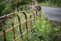 Cheshire railings, Chipping, Lancashire.