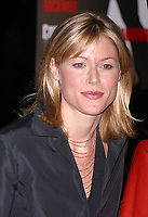 JULIE BOWEN 12/19/2002<br /> CONFESSIONS OF A DANGEROUS MIND PREMIERE AT THE PARIS THEATRE, NEW YORK CITY<br /> Photo By John Barrett/PHOTOlink