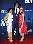 Patricia Heaton,Trace Adkins and Sarah Drew attends Moms' Night Out held at TCL Chinese Theatre in Hollywood, California on April 29,2014                                                                               © 2014 Hollywood Press Agency