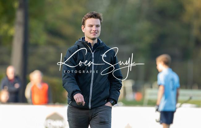 BLOEMENDAAL  -  Remco van der Heijden , assistent coach Bloemendaal, , competitiewedstrijd junioren  landelijk  Bloemendaal JA1-Nijmegen JA1 (2-2) . COPYRIGHT KOEN SUYK