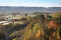 The village of Youlgrave, Peak District National Park, Derbyshire, UK. November.