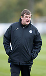 St Johnstone Training&hellip;12.10.17<br />Manager Tommy Wright pictured during training ahead of tomorrow nights game against Rangers<br />Picture by Graeme Hart.<br />Copyright Perthshire Picture Agency<br />Tel: 01738 623350  Mobile: 07990 594431