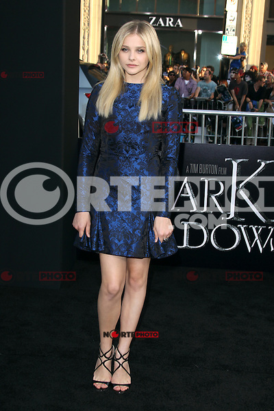 Chloe Grace Moretz at the premiere of Warner Bros. Pictures' 'Dark Shadows' at Grauman's Chinese Theatre on May 7, 2012 in Hollywood, California. © mpi26/ MediaPunch Inc.