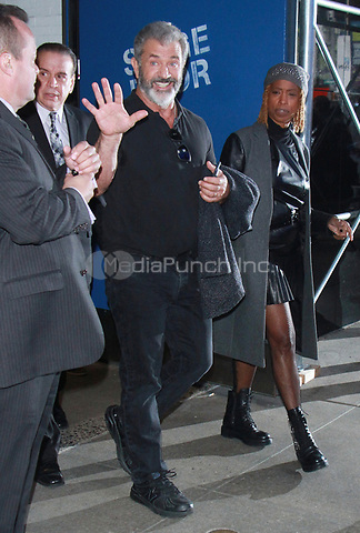 NEW YOK, NY - NOVEMBER 9: Mel Gibson seen after an appearance on Good Morning America promoting his new movie Daddy's Home 2 in New York City on November 9, 2017. Credit: RW/MediaPunch