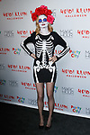 Heather Graham arrives at Heidi Klum's 18th Annual Halloween Party presented by Party City and SVEDKA Vodka at Magic Hour Rooftop Bar & Lounge at Moxy Times Square, on October 31, 2017.