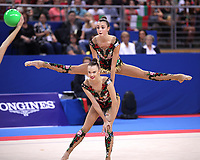 September 15, 2018 - Sofia, Bulgaria - Russia rhythmic group performs in group AA final & qualification for finals at 2018 World Championships.