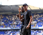 Tottenham's Dele Alli waves to the crowd during the Barclays Premier League match at the White Hart Lane Stadium.  Photo credit should read: David Klein/Sportimage