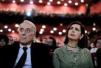 Roma, 11 Marzo 2017<br /> Giuliano Pisapia e Laura Boldrini.<br /> La prima cosa bella.<br /> Nasce Campo Progressista, assemblea al teatro Brancaccio di Roma