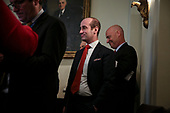 Senior Advisor for Policy Stephen Miller attends a Cabinet Meeting with President Donald Trump in the Cabinet Room of the White House on November 19, 2019 in Washington, DC.<br /> Credit: Oliver Contreras / Pool via CNP