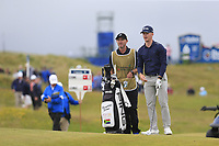 Brandon Stone (RSA) on the 18th hole during Saturday's Round 3 of the Dubai Duty Free Irish Open 2019, held at Lahinch Golf Club, Lahinch, Ireland. 6th July 2019.<br /> Picture: Eoin Clarke | Golffile<br /> <br /> <br /> All photos usage must carry mandatory copyright credit (© Golffile | Eoin Clarke)