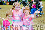 l-r  Lauren Lyons, Ella Lyons and Aoife Lyons from Lixnaw at Kilflynn Enchanted Fairy Festival on Sunday