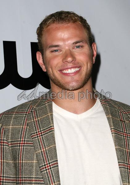 "23 August 2008 - Malibu, California - Kellan Lutz. CW Network's ""90210"" Premiere Party held at a Private Location. Photo Credit: Faye Sadou/AdMedia"