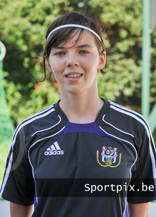 RSC Anderlecht Dames : Julie Van Gijsel.foto DAVID CATRY / Vrouwenteam.be
