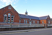 The red brick Presentation Girls school, Killarney New Street, Killarney photographed in 2012.<br /> Picture by Don MacMonagle