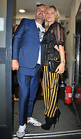 Fat Tony and Kate Moss at the HENI Gallery x Adidas &quot;Prouder&quot; project private view &amp; party, HENI Gallery, Lexington Street, London, England, UK, on Tuesday 03 July 2018.<br /> CAP/CAN<br /> &copy;CAN/Capital Pictures