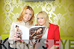 Orla Diffily and Lisa Dennehy at the Green House Clothing Launch in Expose Salon, Mounthawk on Sunday night which raised funds for MS Ireland.