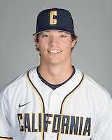 Cal Baseball Portraits, October 14, 2016
