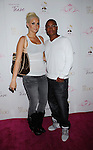 "HOLLYWOOD, CA. - August 10: Karissa Shannon and Sam Jones III  arrive at Paris Hilton And Friends Celebrate ""Tease"" Fragrance Launch at My Studio Nightclub on August 10, 2010 in Hollywood, California.  ."