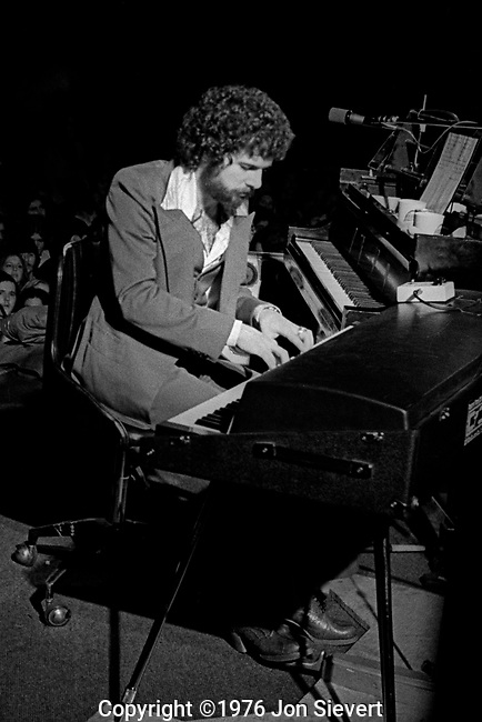 Chuck Leavell, Oakland Coliseum, Oct. 23, 1975; 18-9-10