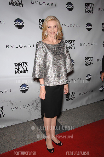 "Jill Clayburgh at the premiere of her new TV series ""Dirty Sexy Money"" at the Paramount Theatre, Hollywood..September 24, 2007  Los Angeles, CA.Picture: Paul Smith / Featureflash"