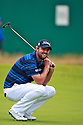 Gary Leishman (AUS) in action during the final round of the 143rd Open Championship played at Royal Liverpool Golf Club, Hoylake, Wirral, England. 17 - 20 July 2014 (Picture Credit / Phil Inglis)