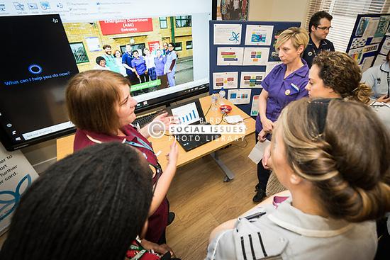 The Princess Alexandra Hospital, Harlow, Nursing & Midwifery Celebration Day - training and information, UK. Emergency department information