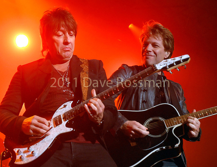 Richie Sambora and John Bon Jovi perform at the Lanier Law Firm's Holiday Bash Sunday Dec. 13,2009.(Dave Rossman/For the Chronicle)
