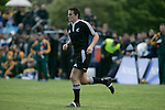 Mike Harris comes on late in the match, New Zealand Secondary Schools versus Australia played at Auckland Grammar School on the 10th of October 2006. New Zealand won 18 - 8.<br />