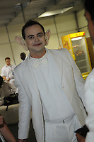 SAO PAULO, SP, 03 DE JUNHO 2012 - SKOL SENSATION 2012 - O humorista Marvio Lucio (Carioca) durante a edicao do 2012 do Festival Skol Sensation realizado no Anhembi na noite de ontem sábado, 02. (FOTO: MARCOS MADI / BRAZIL PHOTO PRESS).
