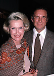 Dina Merrill & Cliff Robertson  in New York City