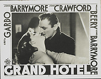 Grand Hotel (1932)<br /> Greta Garbo &amp; John Barrymore<br /> *Filmstill - Editorial Use Only*<br /> CAP/MFS<br /> Image supplied by Capital Pictures