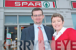 Gerard and Maureen Greaney, proprietors of Spar, Market Street, Listowel.   Copyright Kerry's Eye 2008
