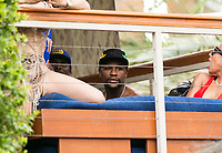 LAS VEGAS, NV - AUGUST 6: ***HOUSE COVERAGE** Floyd Mayweather seen at REHAB Beach Club at The Hard Rock Hotel &amp; Casino in LAs Vegas, Nevada on August 6, 2017. <br /> CAP/MPI/EKP<br /> &copy;EKP/MPI/Capital Pictures