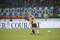 VOETBAL: SC HEERENVEEN: Abe Lenstra Stadion, 17-02-2012, SC-Heerenveen-NAC, Eredivisie, Eindstand 1-0, Arnold Kruiswijk, Ömer Bayram, ©foto: Martin de Jong