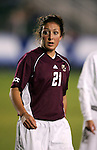 Boston College's Maddie Johnson on Wednesday, November 2nd, 2005 at SAS Stadium in Cary, North Carolina. The Duke University Blue Devils defeated the Boston College Eagles 2-0 during their Atlantic Coast Conference Tournament Quarterfinal game.